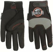 Ironclad Redline Workhorse Gloves Sz Large  Black Gray New Free Shipping