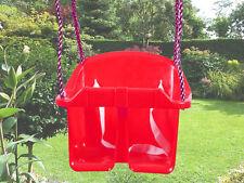RED BABY / BAMBINO IN PLASTICA Periodo fisso Periodo fisso di Swing sedile GIARDINO CORDA ARRAMPICATA TELAIO