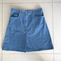 Lilly Pulitzer Blue Corduroy Skirt A-Line Women's Size 2