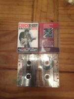 Music Cassette Tapes  Bundle - Chuck Berry