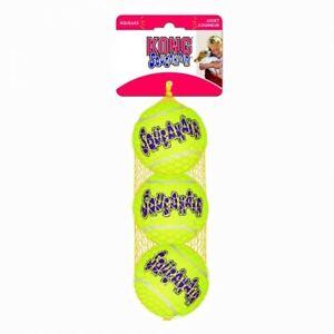 "Kong SqueakAir Ball Dog Toy, Small - 2"" Diameter (3 Pack)"