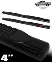 "For 2004-2020 Nissan Titan Crew 4"" Oval Black Side Step Nerf Bars Running Boards"