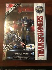 Transformers The Last Knight Optimus Prime Premier Voyager Reveal TRU Exclusive