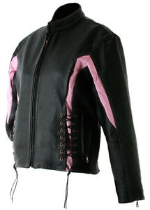 Leather Jacket Motorcycle Black Womens Coat Winter Clothing Theory Hawg Hides
