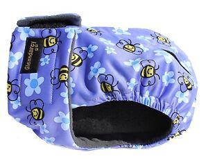Glenndarcy Female Dog Heat Season Pants Nappy Diaper I Busy Bee