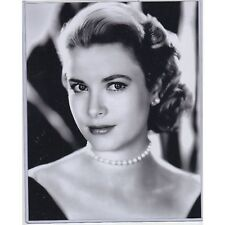 "Grace Kelly 8""10"" b&w PHOTO w/toploader FREE USA SHIP movie star/princess"