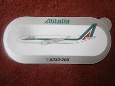 AUTOCOLLANT STICKER AUFKLEBER AIRBUS A330-200 ALITALIA AIRLINE ITALIE