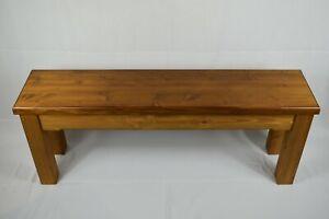 Wooden Handmade Kitchen Dining Bench