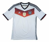 Germany 2014-15 Authentic Home Shirt 'World Champions' L Soccer Jersey