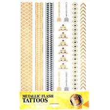 Tatuaggio Adesivo Pelle-Tatuaggio Corpo-una volta tattoo-tatuaggio METALLIZZATO soggetto 11