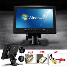 Portable Mini 7Inch HDMI VGA Display 1024x600 LCD Screen Car Rearview TV Monitor