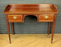 Antique Edwardian Inlaid Mahogany Dressing Table Wash Stand ~ Bathroom Table
