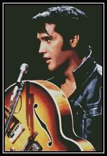 Elvis Presley 2 - Cross Stitch Chart/Pattern/Design/XStitch