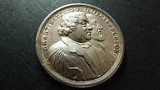 1730 Silver Germany Nurnberg Reformation Medal Martin Luther Augsburg Confession