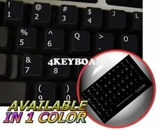 DVORAK (RH) NON-TRANSPARENT KEYBOARD STICKER BLACK