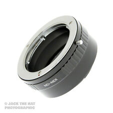 Pro Minolta MD to Sony NEX Lens Adapter. SR/MC/MD to Sony E-Mount Adaptor Ring