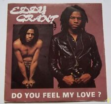 "Eddy GRANT  Vinyle 45 T  2 Titres "" Do you feel my love? "" AZ"