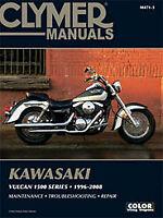 Clymer Repair Manual Kawasaki Vulcan 1500 Series 1996-2008 M471-3 70-0471