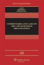Commentaries and Cases on the Law of Business Organization, Fourth Edition (Asp