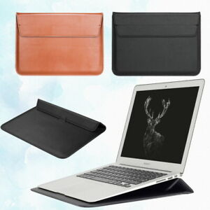 Leather Notebook Carry Stand Pouch Sleeve Case Bag For Lenovo IdeaPad 11'' 14''