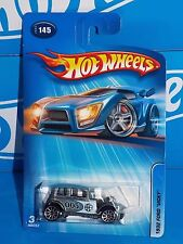Hot Wheels 2005 Mainline #145 1932 Ford Vicky Silver w/ 10SPs