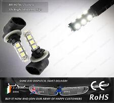 881 H27W/2 LED SMD Xenon White Fog DRL Daytime Running Side Parking Lights Bulbs