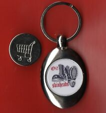 Trolley Coin Keyring Oi Skinheads Boots