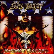 LAAZ ROCKIT - NOTHING SACRED  CD NEW