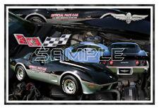 1978 78 Corvette Indy Pace Car Poster Print