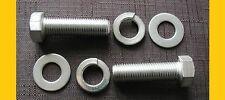 """2x ceinture inoxydable boulons 7 / 16UNF x 1.1 / 2 """"pouces VW Split Bay Van FORD PORSCHE"""