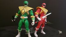 Power Rangers Armored Mighty Morphin Green & Red Bandai Super Megaforce