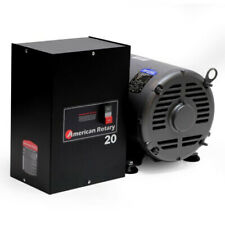 American Rotary Phase Converter Ar20 20 Hp 1 To 3 Three Ph Made Is Usa