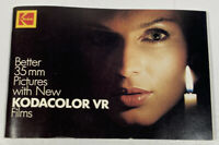 Vintage Kodak Booklet Better 35mm Pictures New Kodacolor VR Films 70 Pages c1983