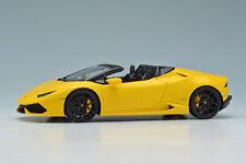 Makeup/EIDOLON EM342B4 1:43 Lamborghini Huracan LP610-4 Spyder 2015 Pearl yellow