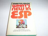 "Vintage 1976 ""What's New In ESP"" by Martin Ebon"