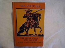 1954 MISPRINT BOOK Six Feet Six Sam Houston-COVER,Wheel On The School-STORY