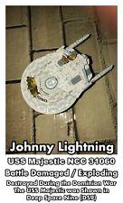 Johnny Lightning Star Trek DS9 USS Majestic NCC 31060 Battle Damaged Model