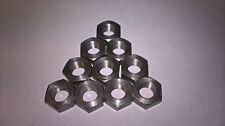 10 x 5/16 BSCy 26TPI Stainless Steel FULL Nuts Cycle Thread, Triumph, BSA,