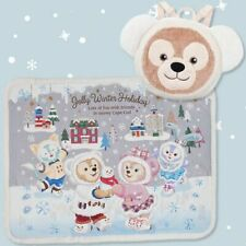 Tokyo Disney SEA Duffy Bear Friends Blanket Christmas Gelatoni Stella Lo 2019