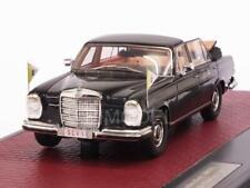 Mercedes 300 SEL Landaulette Vatican City open 1967 Blac 1:43 MATRIX MX41302-061
