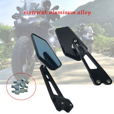 Motorcycle Scooter Dirt Refit CNC Rearview mirror anti-glare Aluminium universal