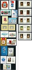 Russia USSR Large Lot of 22 MNH Souvenir Sheets from 1981 to 1985