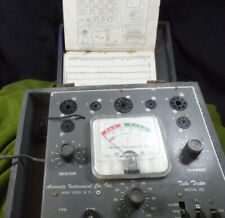 Accurate Instruments Tube Tester Model 151 with 157 model manual.