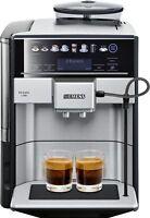SIEMENS Kaffeevollautomat EQ.6 plus s700 Edelstahl/schwarz TE657503DE