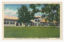 Colonial Motor Lodge, Baton Rouge, Louisiana 1940's