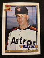 JEFF BAGWELL 1991 Topps Traded Rookie #4T Houston Astros RC