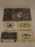 Lot Of 7 Vintage 90's Hip Hop/Rap Cassette Tapes