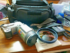 (#08) Sony Cyber-shot DSC-F707 5MP Digital Camera Night Shot w/ Wide-Sngle Lens