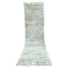 9.4 FT X 2.7 FT Handmade Runner rug Moroccan rug Beni Ourain boujaad Azilal rug