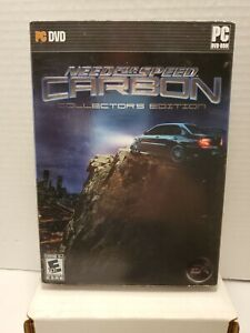 Need for Speed Carbon Collector's Edition (PC, 2006) Complete With Key CIB BB24